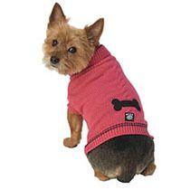 Petrageous Designs Cali's Cable Sweater - Raspberry   Dog   Pet Supermarket