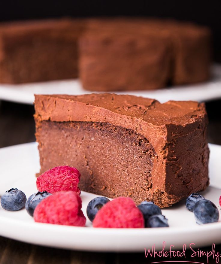 5 Ingredient Mud Cake | Wholefood Simply | Bloglovin'