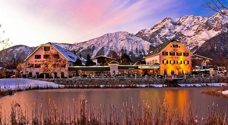 Picture perfect Alpenresort Schwarz in Austria Old World Charm: 20 Austrian Hotels and Spas to Swoon Over