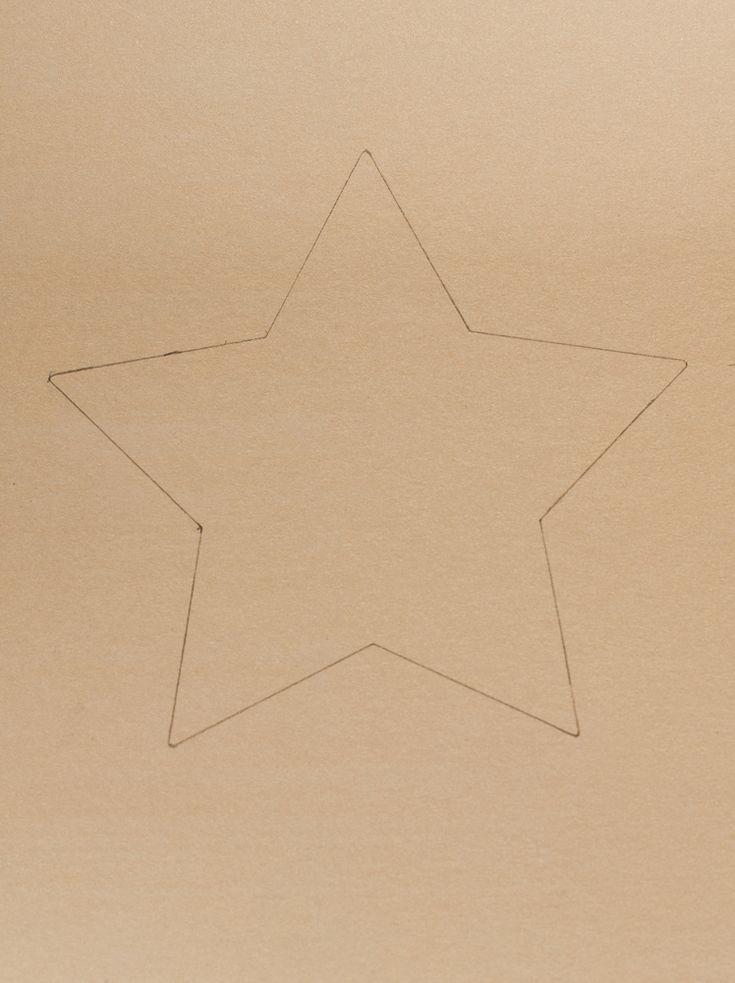 DIY star-shaped box tutorial. DSC_0459