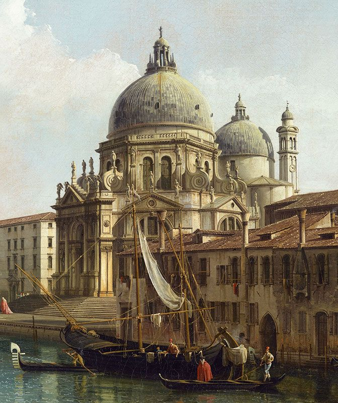 Paintings by Bernardo Bellotto, Vue du Grand Canal