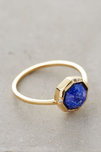Vesto Lazuli Ring #AnthroFave
