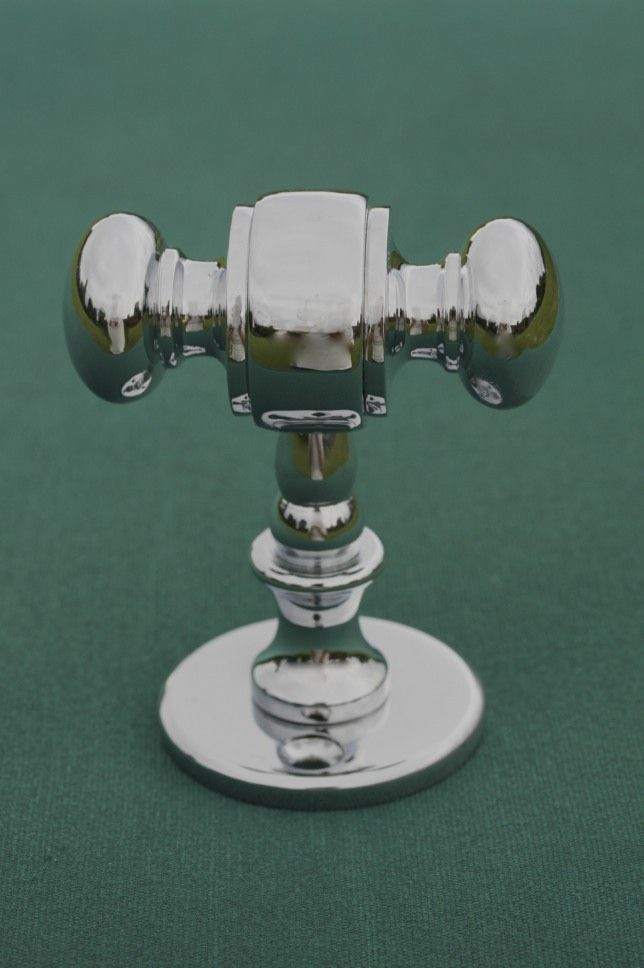 Buy Classic Double Bathroom Hook - Towel hook or robe hook, a superb solid and chunky item. Handcrafted in England to the highest standard of quality and part of our Classic Range of Bathroom Accessories.  www.priorsrec.co.uk