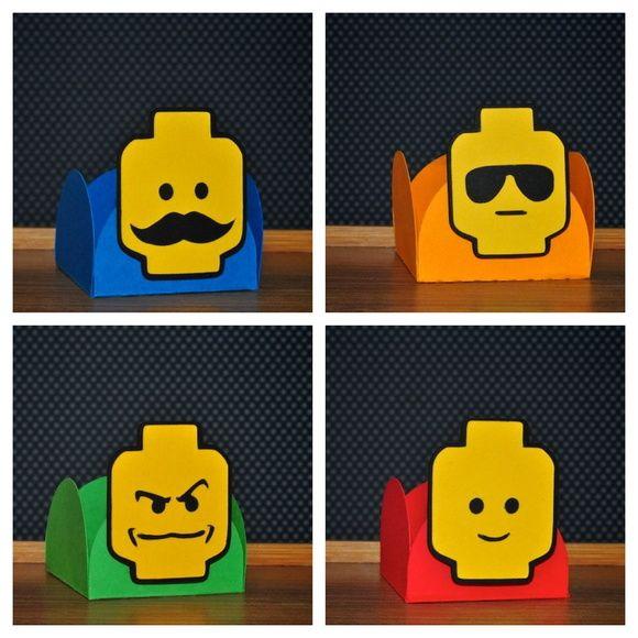 Forminhas Expressões - Coleção Lego