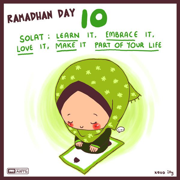 10. Dont just solat. Feel it