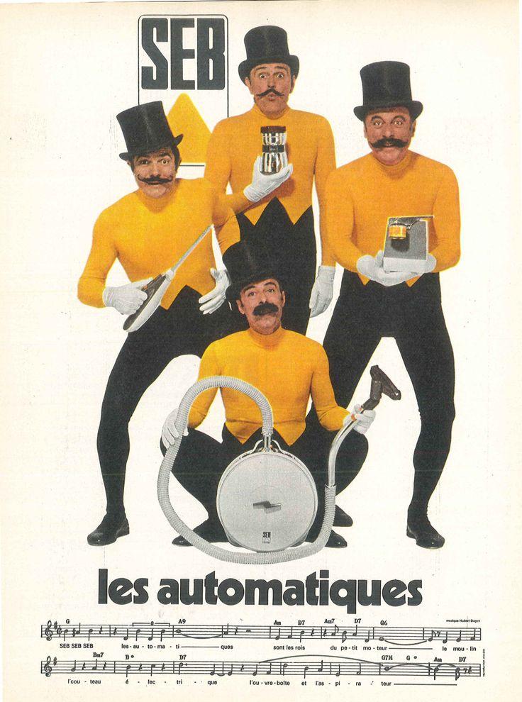 Seb, les automatiques (avec les Frères Jacques) - Modes de Paris, décembre 1970