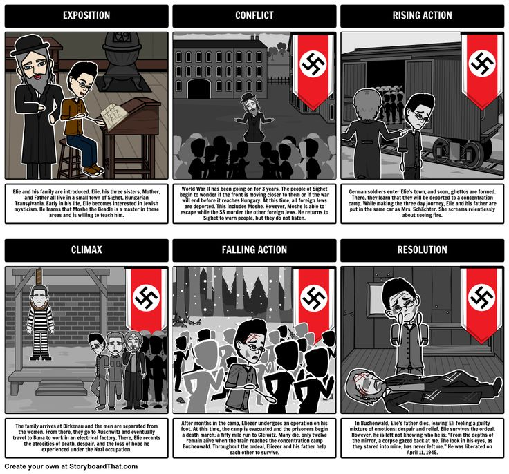 Night by Elie Wiesel is a story that depicts life during The Holocaust. Our Night activities & lesson plans covers plot diagram, characters, themes & timeline