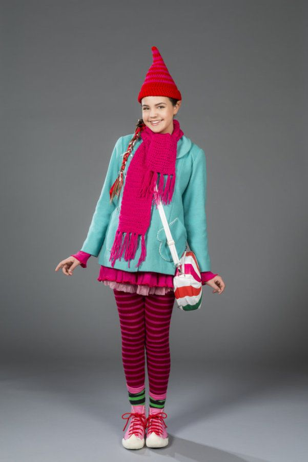 """I love Bailee's hat, scarf, coat, and bag in the Halmark movie """"Northpole,"""""""