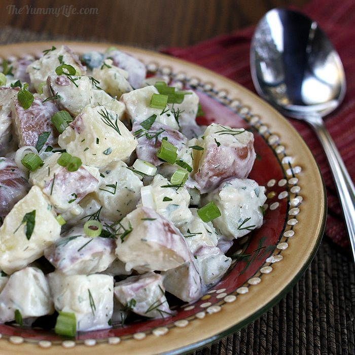 Potato Salad With Yogurt, Arugula, And Dill Recipes — Dishmaps