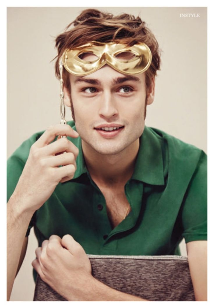 Douglas Booth Charms in Retro Inspired Fashions for InStyle Shoot