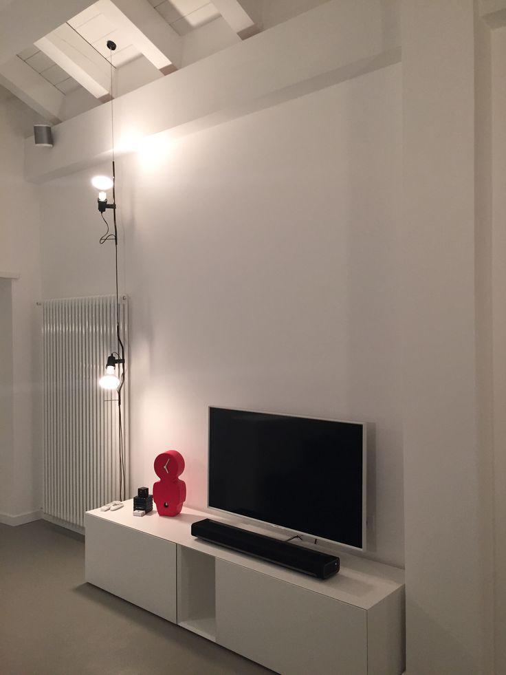 Abitazione privata illuminazione soggiorno led lighting design realizzazioni - Lampade moderne per soggiorno ...