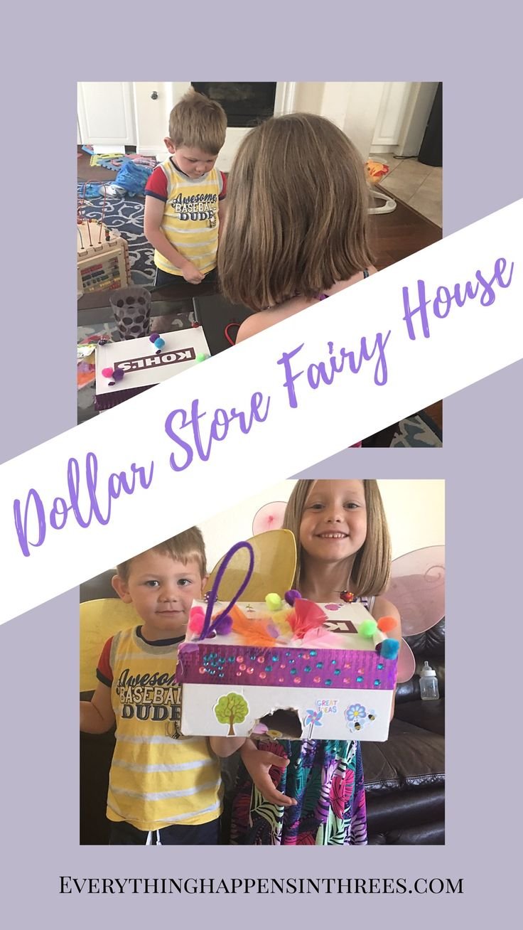 Create a dollar store art project. It's a great summer activity for kids to really exercise their creativity.