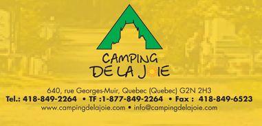 Camping de la joie Québec