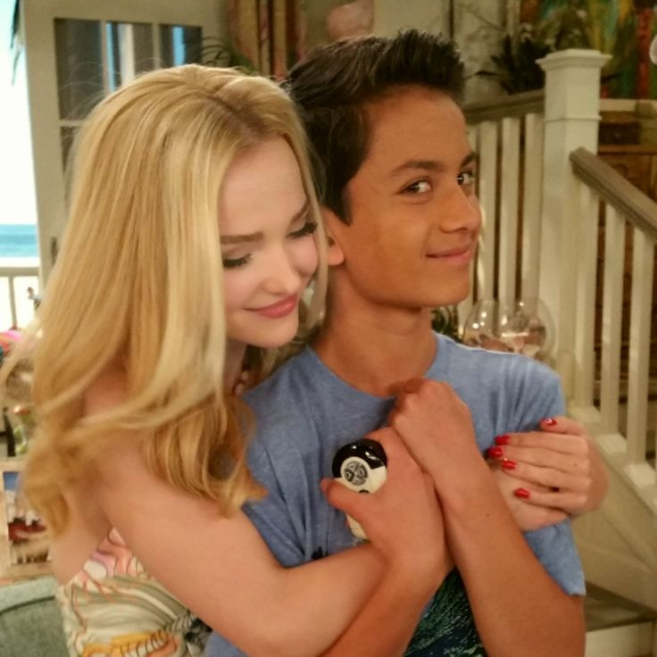Dove Cameron and Tenzing Trainor