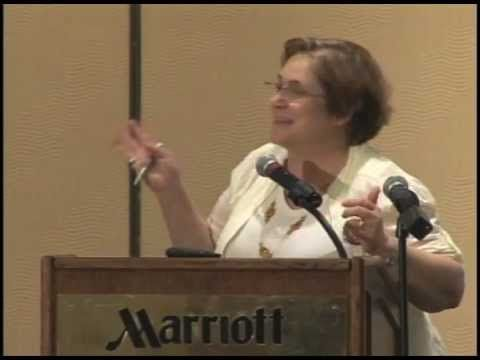 """2012: Fernanda Giannasi presenting, """"Challenges to a Total Ban of Asbestos in Brazil"""" at the Asbestos Disease Awareness Organization (ADAO) Conference"""