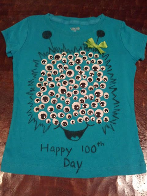 100th Day Shirt...I am so making one of these for myself :}