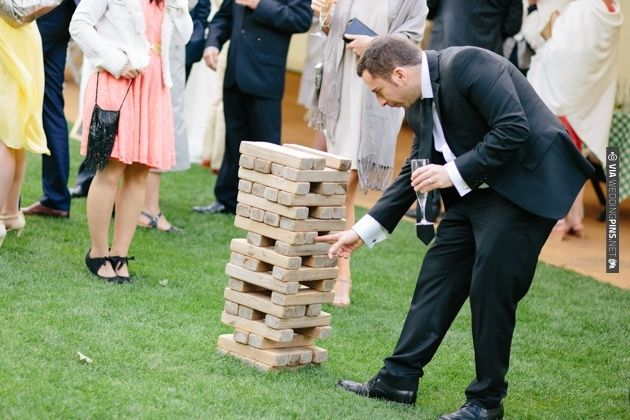 love lawn games at a wedding | Lisa Dawn Photography | CHECK OUT MORE IDEAS AT WEDDINGPINS.NET | #weddings #uniqueweddingideas #unique