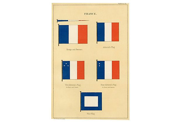 what does the france flag colors mean