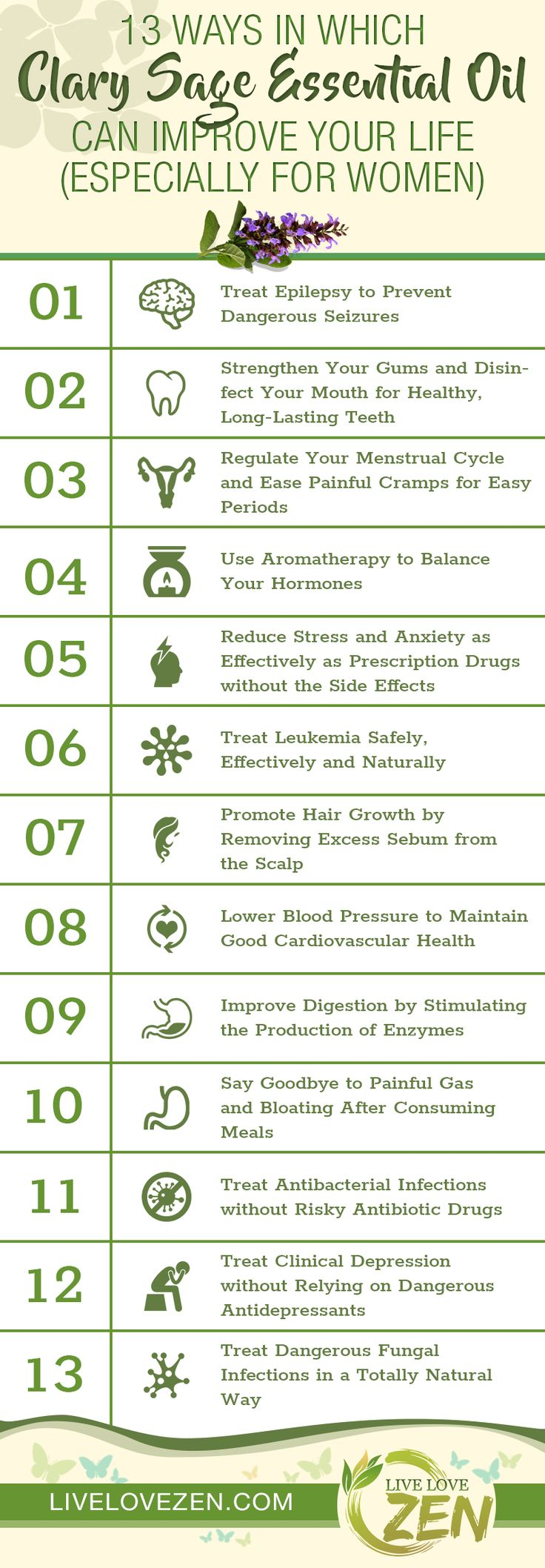 Clary sage essential oil is one of the lesser known essential oils despite its profound health benefits. When it comes to treating numerous health conditions, clary sage essential oil is an effective treatment unlike anything else. This incredible product can treat serious conditions such as leukemia, epilepsy and problems related to hormonal imbalances, just to …