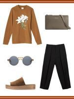 How To Get Extra Mileage Out Of Your Work Pants #refinery29  http://www.refinery29.com/how-to-wear-black-work-trousers
