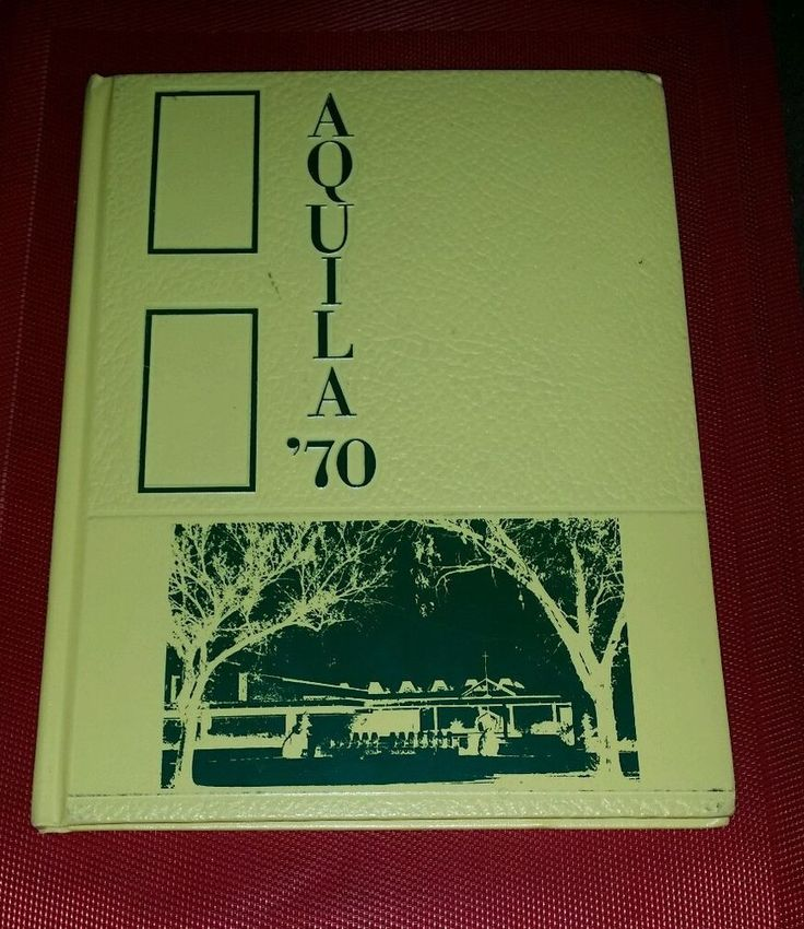 1970 AQUILA Bishop Carroll High School Yearbook Annual Wichita KANSAS Catholic