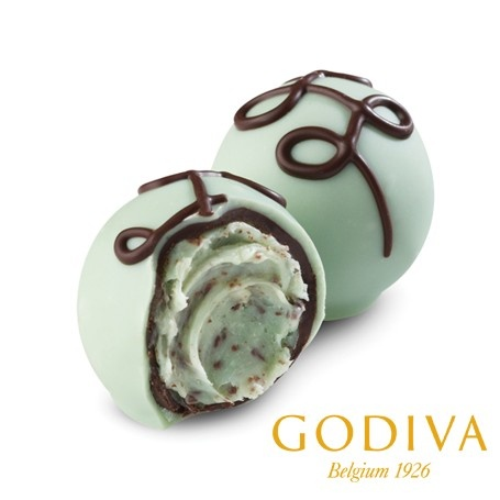 Mint Chocolate Chip Truffle #GODIVA | Food & Drink | Pinterest