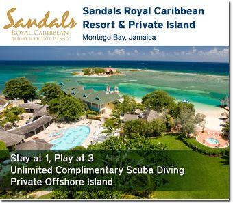 Sandals Resorts #Jamaica #privateisland #sandalsresorts