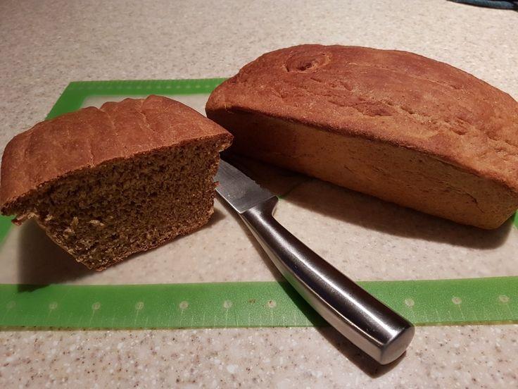 Homemade honey whole wheat bread