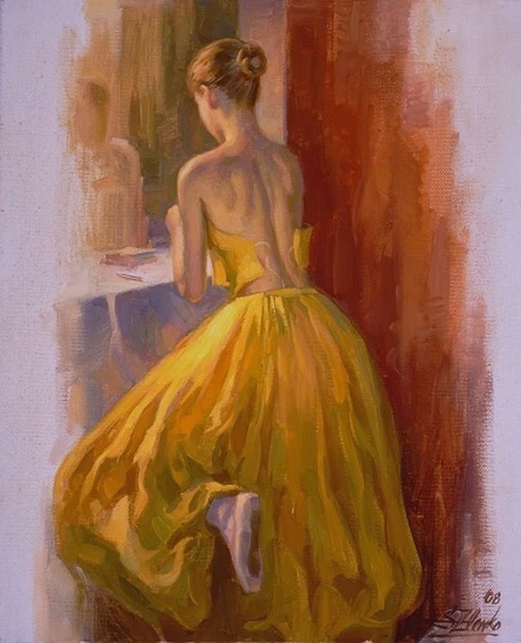 D.W.C. Ballerina - Painter Serguei Zlenko | DANCE WITH COLORS