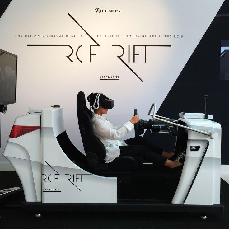 Take an Oculus Rift test drive of the new Lexus