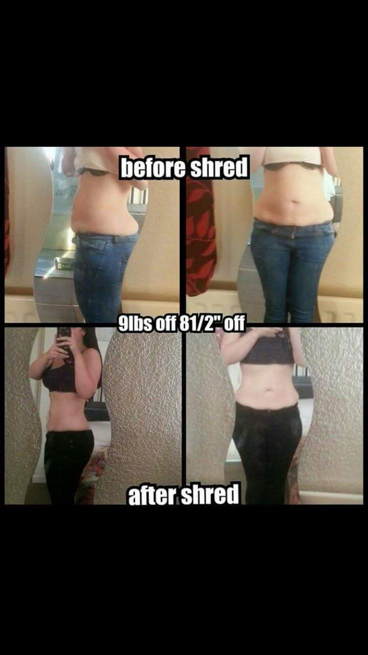 7 day shred results
