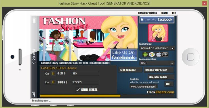 Fashion Story Hack Cheat Tool [coins, gems, hearts