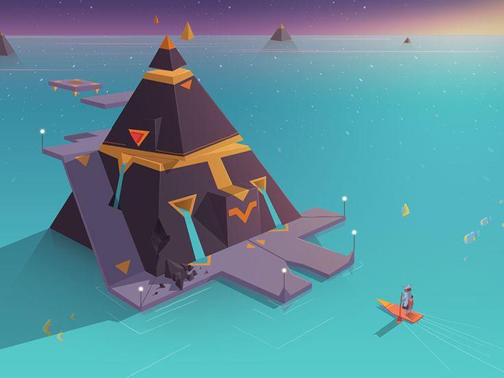 Concept art for our new game, Lost sounds ( Adventures of Poco Eco )   #possible #pocoecogame  www.pocoecogame.com www.pinterest.com/sekond/poco-eco-game/