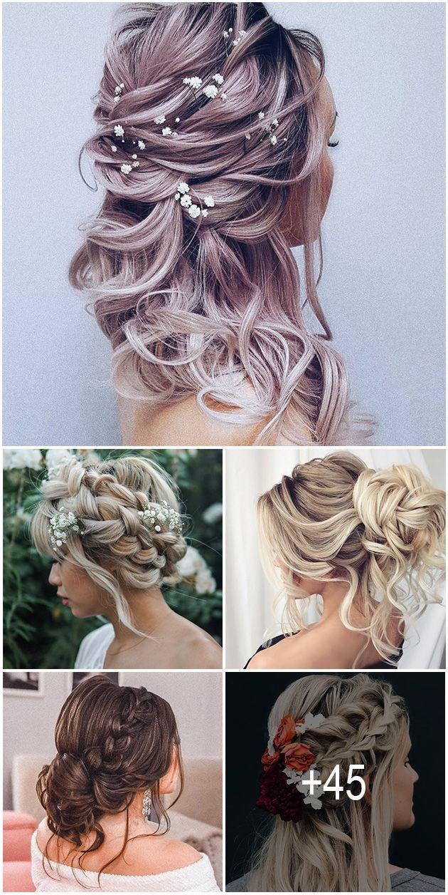 Summer Wedding Hairstyles For Long Hair Fit And Flare 45 Summer Wedding Hairstyles Ideas In 2020 Wedding Hairstyles For Medium Hair Hair Styles Medium Hair Styles