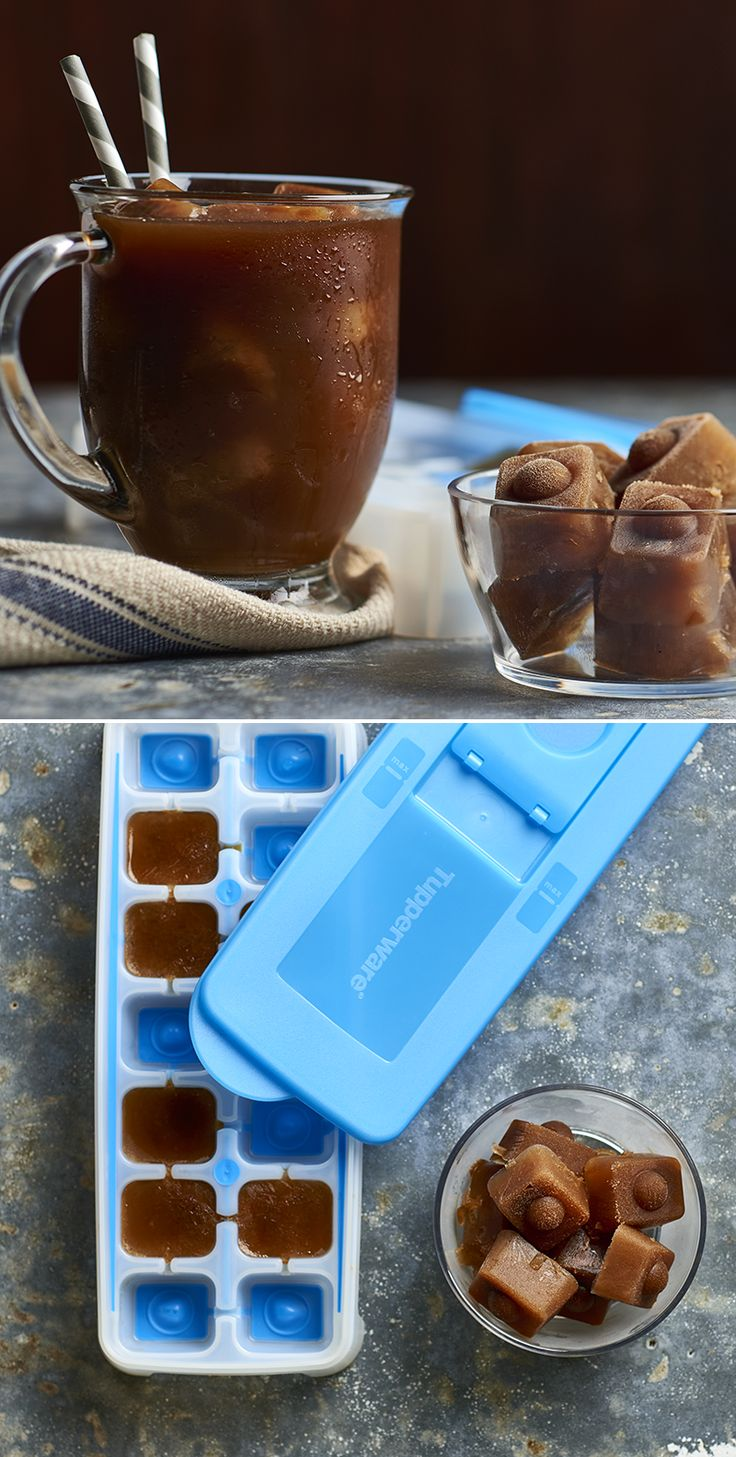 Fresh and Pure™ Ice Tray. Friends don't let friends drink watered-down iced coffee.