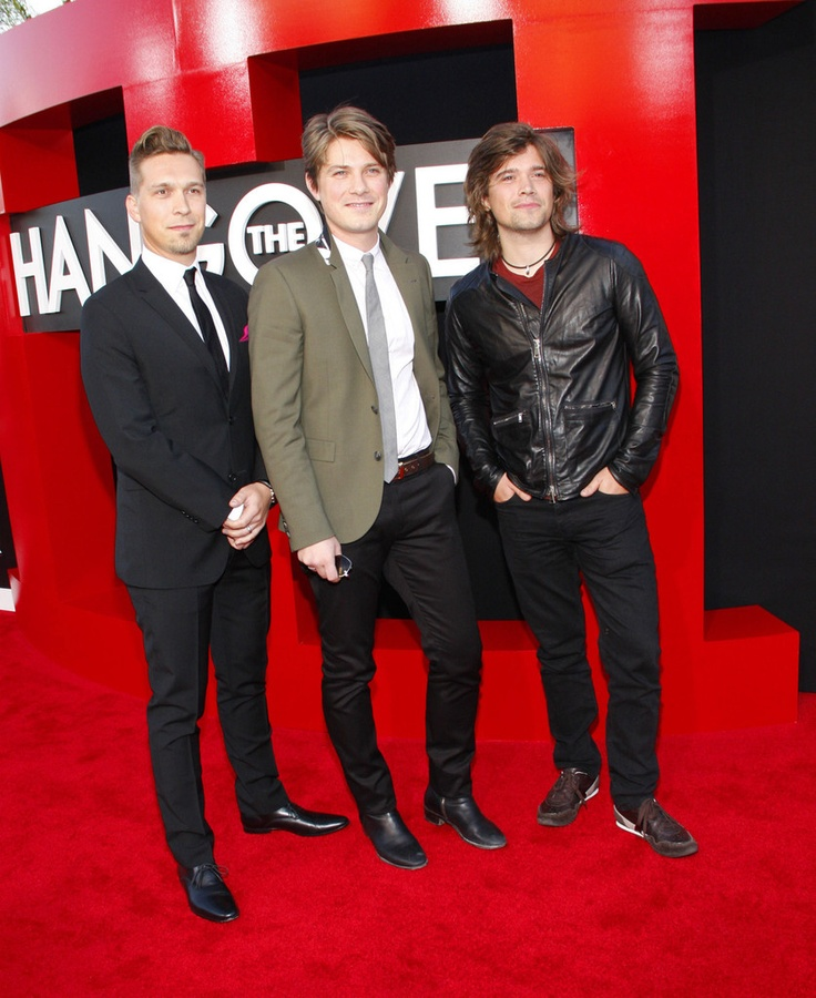 Taylor Hanson and Zac Hanson - The Hangover Part III Premieres in LA — Part 2