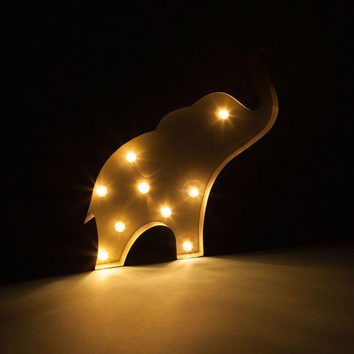 Imagen 3 del producto Lámpara con forma de elefante