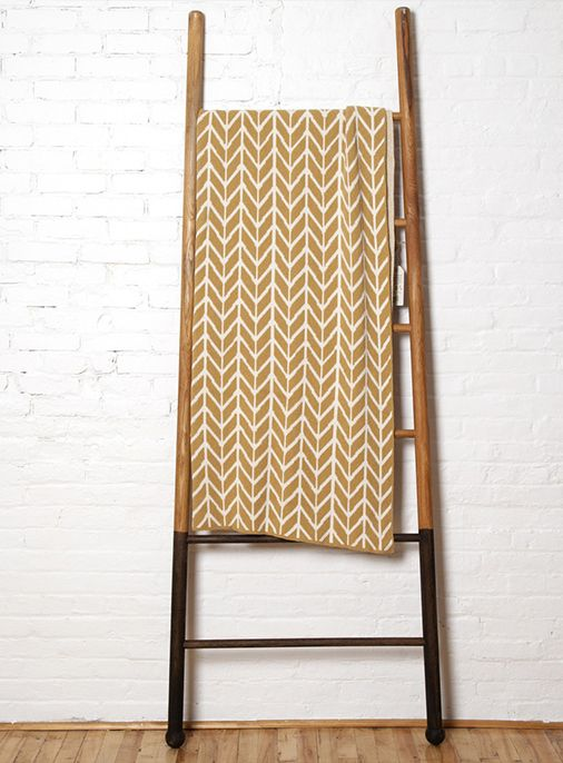 Featuring A Bold Graphic Arrow Print The Eco Throw Blanket Will Offer Space An Offbeat Modern Edge Made From Recycled Cotton And Polyester