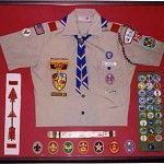 boy scout rank badges displayed uniform - Google Search