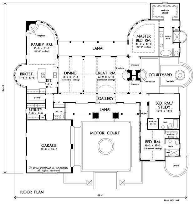 1000+ Bilder zu Floor plans auf Pinterest Craftsman-Architektur
