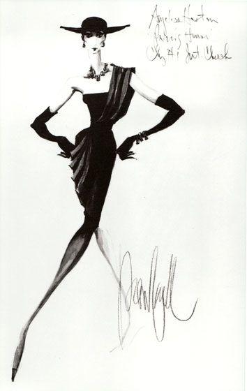 Vintage Fashion Sketches | sketch1