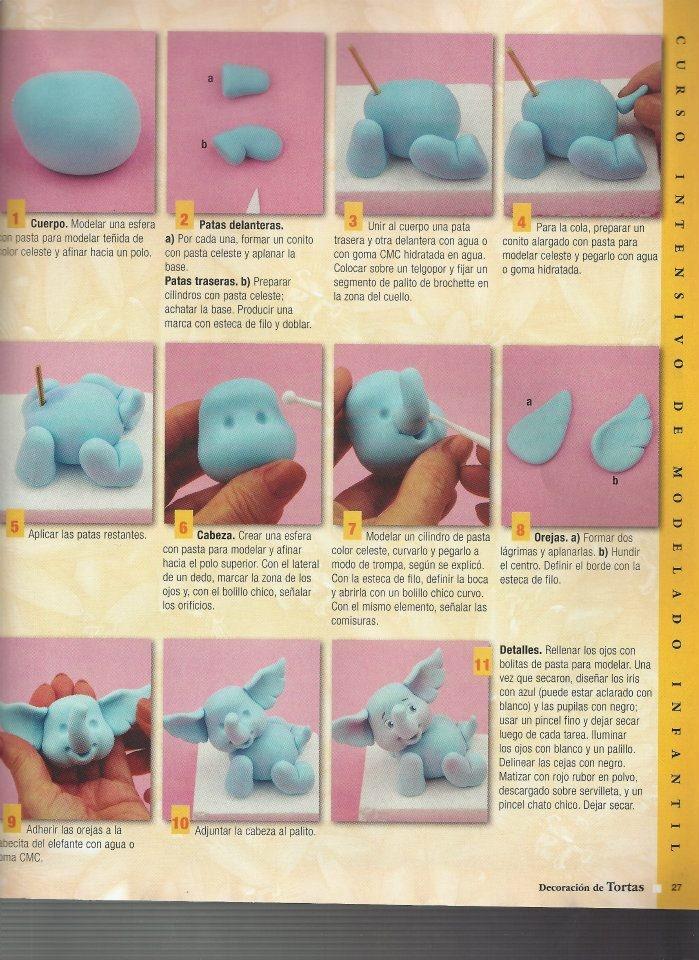 Cute little elephant tutorial
