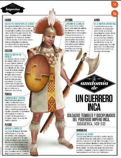 Un guerrero inca