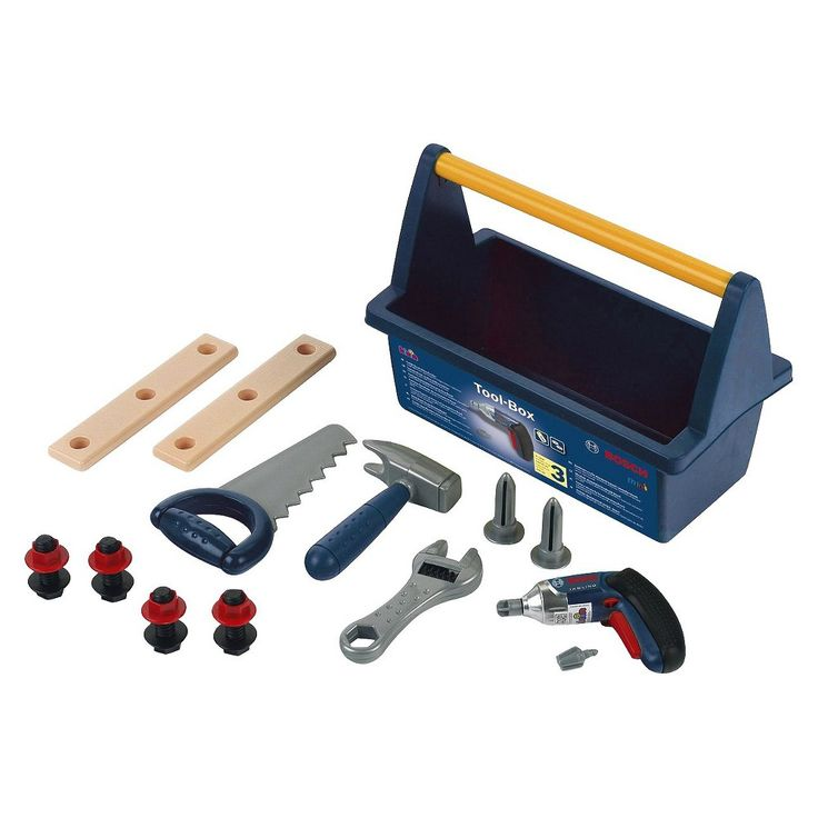 Theo Klein Bosch Tool Box with Ixolino