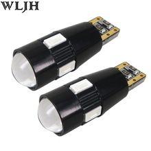 2x Canbus LED T10 W5W Auto Lamp Projector Lens Auto Accessoire klaring Licht Marker lamp Voor seat leon ibiza altea toledo(China (Mainland))