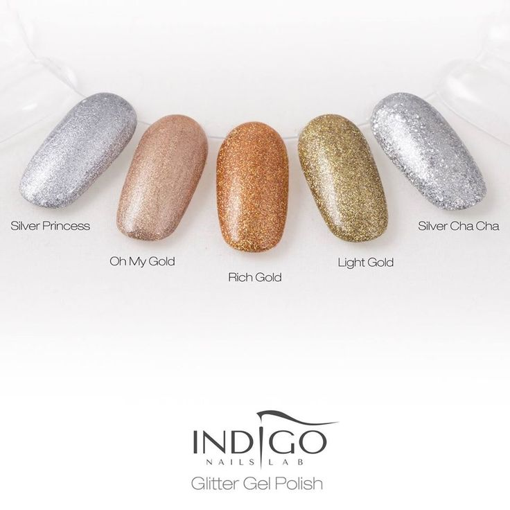 Glitter – Silver Cha Cha (video) | indigo labs nails veneto