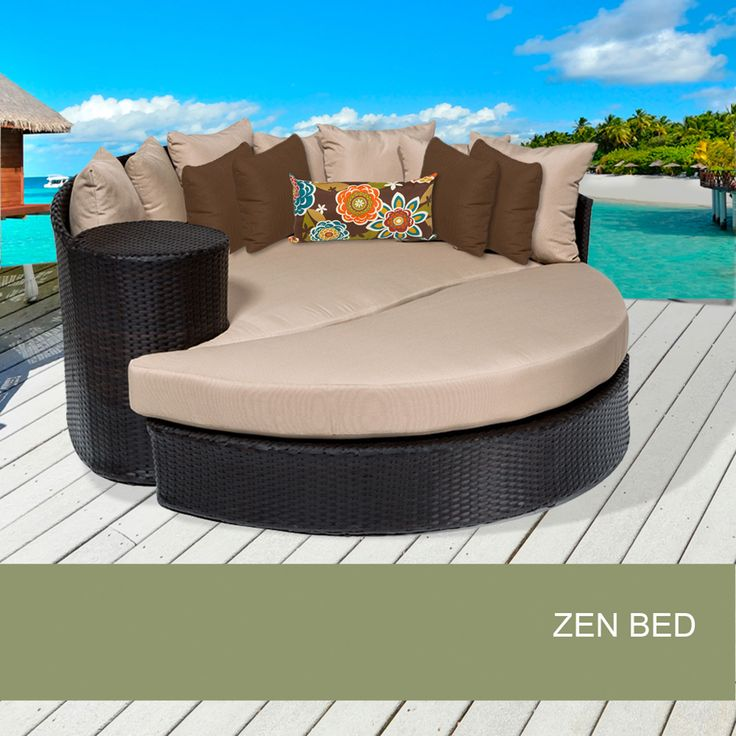 7 best round chaise lounge images on pinterest the great