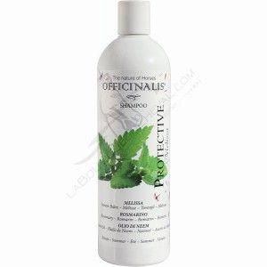"Shampooing OFFICINALIS ""Protective"" - anti-insectes cheval - sellerie en ligne www.laboutiqueducheval.com"