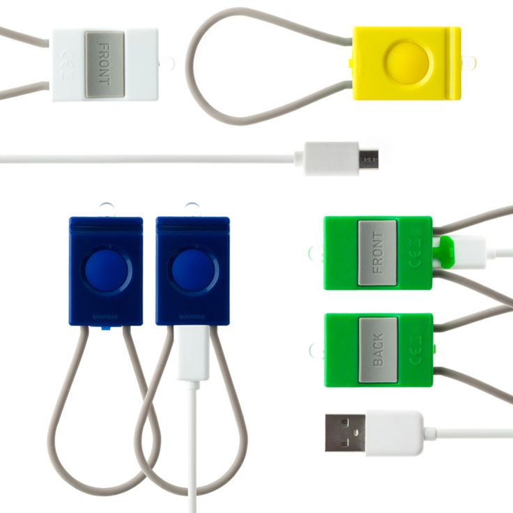 Bookman USB Bike Lights. Green Lighting.