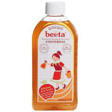 Beeta, Detergente universale concentrato, 5 agenti in 1, ecologico e dermatologicamente testato.